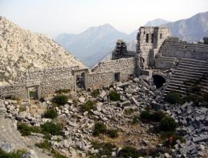 Древний город Термес