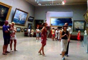 картинная галерея имени И.К.Айвазовского