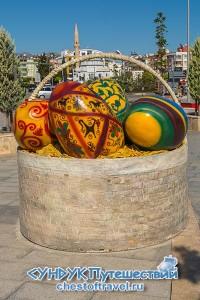 пасхальные яйца в Анталии