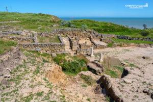 древнее городище Нимфей в Керчи