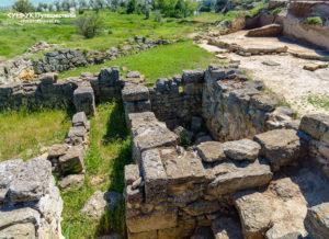 раскопки Нимфей